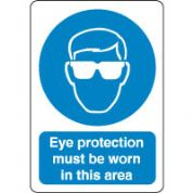 Mandatory Safety Sign - Eye Protection 048